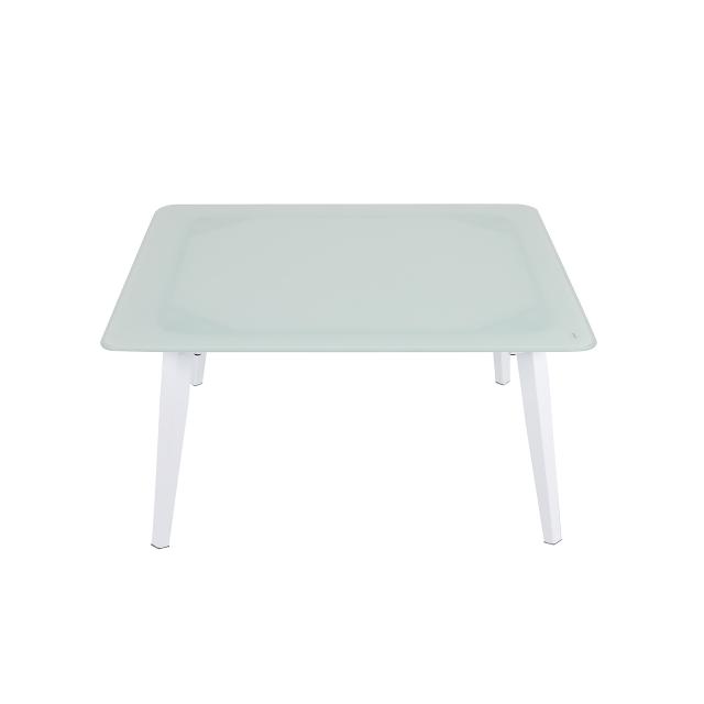 Cool Nuu Garden Aegean Aluminum Coffee Table Nuu Garden Machost Co Dining Chair Design Ideas Machostcouk