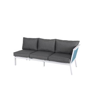 Nuu Garden Aegean 3-Seat Strap Sofa Left Armrest