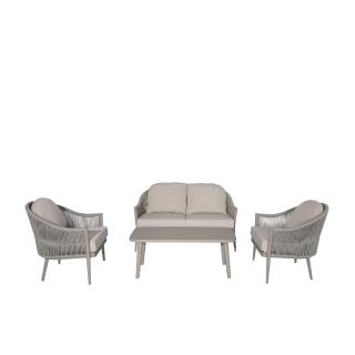 Nuu Garden Delphi 4-piece Strap Lounge Set