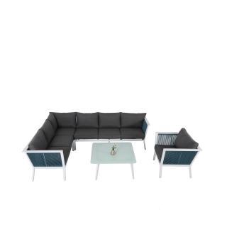 Nuu Garden Aegean 5-Piece Strap Corner Sofa Set