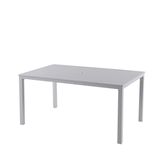 Nuu Garden Galilee Aluminum Dining Table