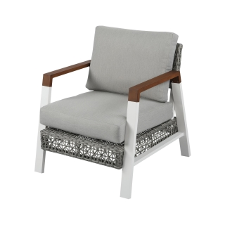 Nuu Garden Ionia Single Aluminum Wicker Sofa