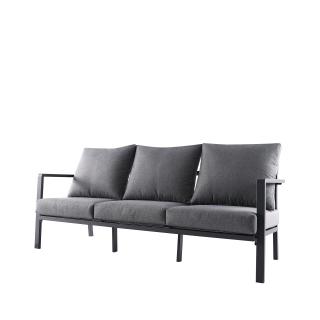 Nuu Garden Flores 3-Seat  Aluminum Sofa