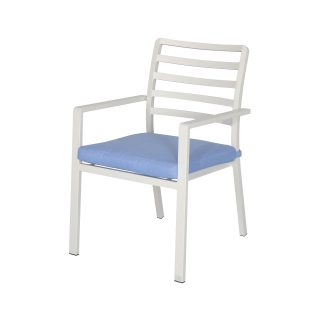 Nuu Garden Galilee Aluminum Dining Chair