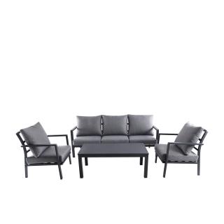 Nuu Garden Flores 4-piece Aluminum Lounge Set