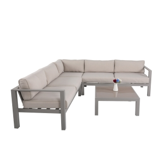 Nuu Garden Spencer  4-piece Corner Lounge Set