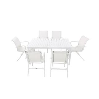 Nuu Garden Paria 7-piece Textilene Dining Set