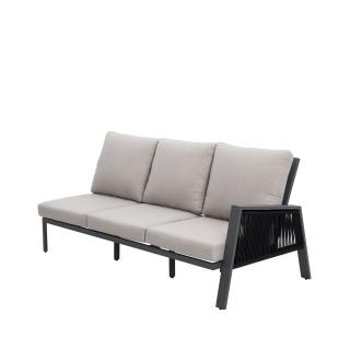 Nuu Garden Sicily 3-Seat Sofa Left Armrest