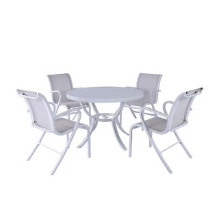 Nuu Garden Paria 5-piece Textilene Dining Set
