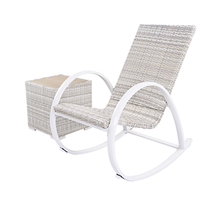 Nuu Garden Timor 2-piece Rattan Rocking Chair Set
