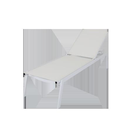 Nuu Garden Salish Textilene Sun Lounger
