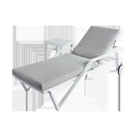 Nuu Garden Biscay 2-piece Aluminum Sun lounger Set
