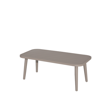 Nuu Garden Delphi Aluminum Coffee Table
