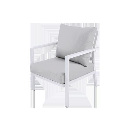 Nuu GArden Flores Single Aluminum Sofa