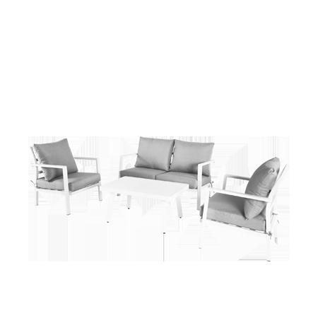Nuu Garden Flores 4-piece Aluminum Sofa Set