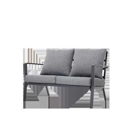 Nuu Garden Corinth Double Aluminum Sofa