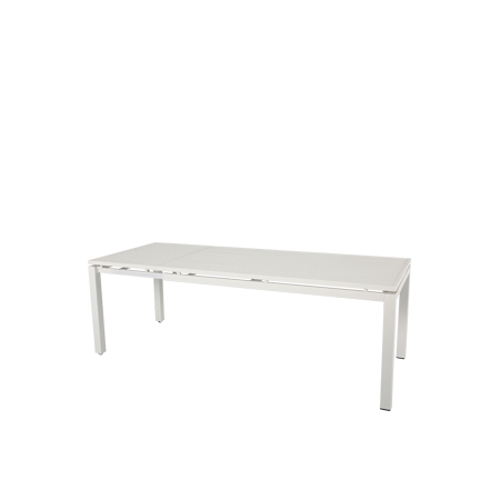 Nuu Garden Galilee Aluminum Extended Dining Table