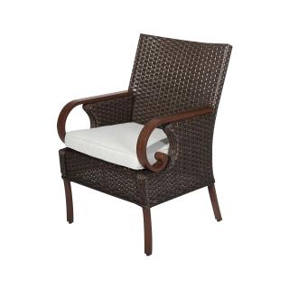 Nuu Garden Brooks Wicker Dining Chair