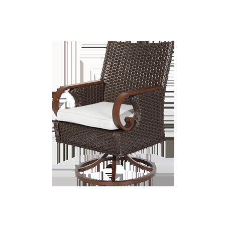 Nuu Garden Brooks Swivel Dining Chair