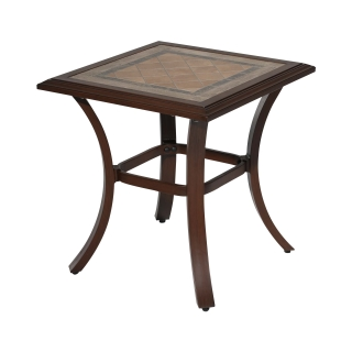 Nuu Garden Brooks Aluminum Side Table