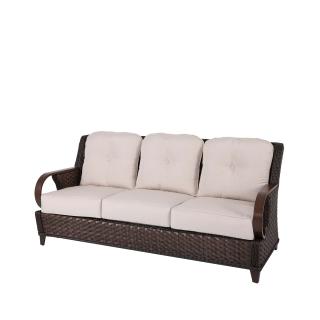 Nuu Garden Brooks 3-seat Rattan Sofa