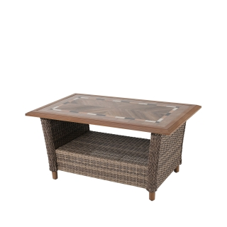 Nuu Garden Mitchell Wicker Coffee Table