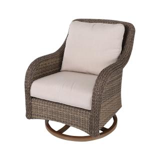 Nuu Garden Mitchell swivel wicker sofa