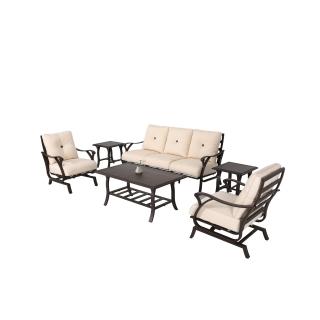 Nuu Garden Pikes 6-piece Aluminum Sofa Set