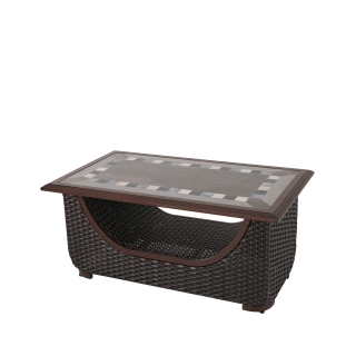 Nuu Garden Lassen Wicker Coffee Table