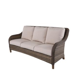 Nuu Garden Mitchell 3-seat Wicker Sofa