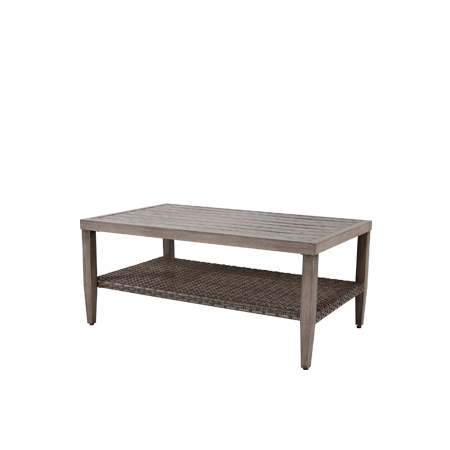 Nuu Garden Tenaya Wicker Coffee     Table