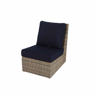 Nuu Garden Livermore Single Wicker Sofa No Armrest