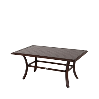 Nuu Garden Brooks Aluminum Coffee Table