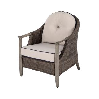 Nuu Garden Baker Single Wicker Sofa