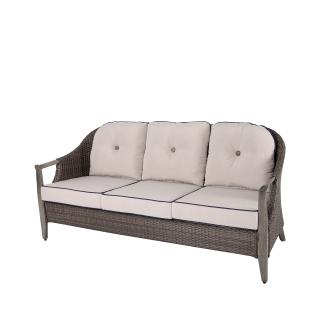 Nuu Garden Baker 3-seat Wicker Sofa