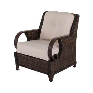 Nuu Garden Brooks Single Wicker Sofa