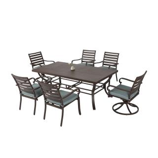 Nuu Garden Denali 7-piece Aluminum Dining Set
