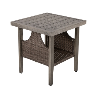 Nuu Garden Baker Wicker Side Table