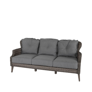 Nuu Garden Tenaya 3-seat Wicker  Sofa