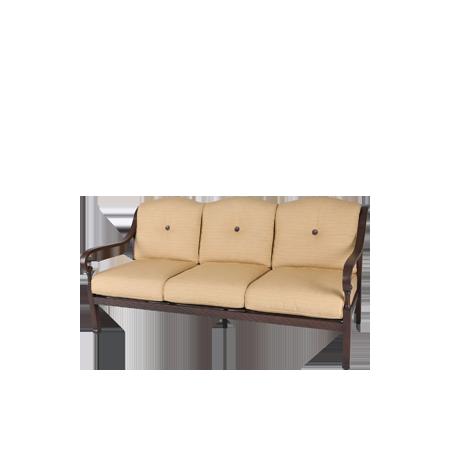 Nuu Garden Denali 3-seat Aluminum Sofa