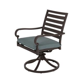 Nuu Garden Denali Swivel Dining Chair