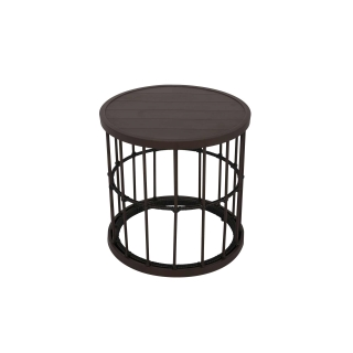 Nuu Garden Wheeler Aluminum Side Table