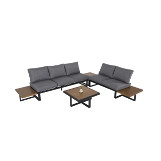 Nuu Garden Steens 4-piece Aluminum Sofa Set