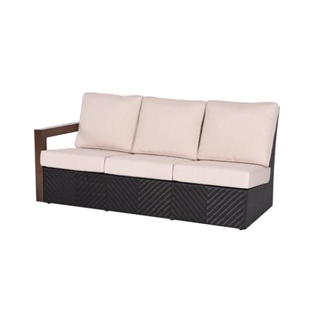 Nuu Garden Delano 3-seat Rattan Sofa Right Armrest