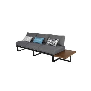 Nuu Garden Steens 3-seat Sofa No Armrest