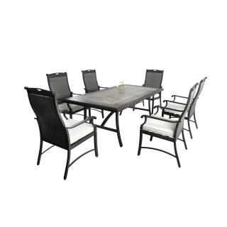 Nuu Garden Russell 7-piece Wicker Dining Set