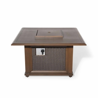 Nuu Garden FAW095 Wicker Fire Pit
