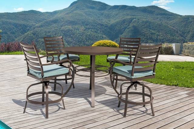Nuu Garden Denali 5-piece Aluminum Bar Set