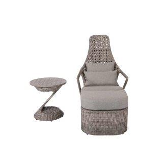 Patio Time Hayes 3-piece Lounge  Set