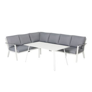 Nuu Garden Weddell 4-piece Lounge Dining Set